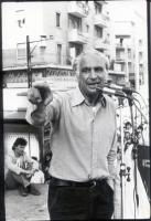 Comizio elettorale di Marco Pannella.