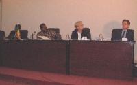 Il Presidente del Mali, Emma Bonino, Gianfranco Dell'Alba, alla Conferenza del Mali per la ratifica del tribunale penale internazionale. Altre digital