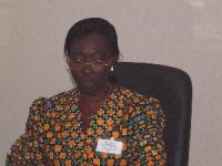 Regina Apotsi (Ghana), alla Conferenza del Mali per la ratifica del tribunale penale internazionale.
