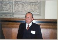 Richard Goldstone, Former Chief Prosecutor del Tribunale Penale Internazionale per la ex-Jugoslavia e per il Rwanda.