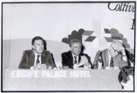 33° Congresso. Enzo Tortora e Mauro Mellini.
