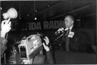 32° Congresso. Enzo Tortora, alla tribuna degli oratori.