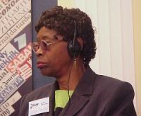 Olayinko Koso Thomas, medico, presidente del CIAF (Comitato interafricano per le pratiche tradizionali) per la Sierra Leone.