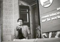 Luigi Sircana, al 10° Congresso del PR.