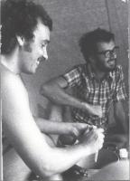 Primo Mastrantoni e Peppini Calderisi.