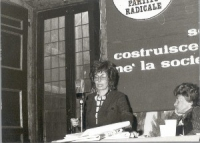 Alma Sabatini, al 10° Congresso del PR.