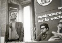 10° Congresso del Pr. Marco Pannella e Roberto Cicciomessere.