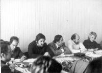 Primo a sinistra: Lorenzo Strick Lievers.