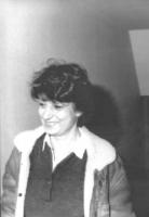 ritratto di Adelaide Aglietta (BN) brutta, sorridente e sfocata