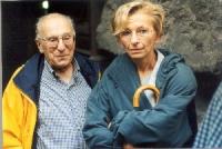 Sergio Stanzani ed Emma Bonino. (2 copie)