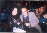 Pier Luigi Camici (militante radicale) e la moglie.