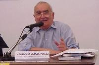 """Angiolo Bandinelli in occasione del convegno in Campidoglio (Sala del Carroccio): """"Legge Jervolino - Vassalli: 10 anni di fallimenti""""."""