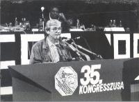 Emilio Vesce al 35° Congresso del Pr.