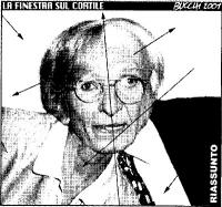 VIGNETTA Montaggio del volto di Emma Bonino e di Marco Pannella, ad opera di Massimo Bucchi.