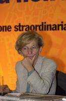 Emma Bonino, in occasione dell'Assemblea dei Radicali.