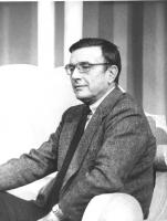 ritratto di Franco Brusati (BN)