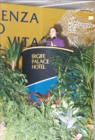 Maria Teresa Di Lascia, alla tribuna del 36° Congresso del PR.