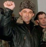 Il presidente della Cecenia Aslan Maskhadov.