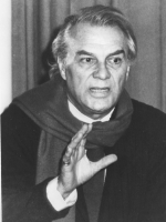 ritratto di Giorgio Albertazzi (BN) attore