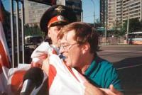 Manifestazione contro la scelta di Pechino come sede dei prossimi giochi olimpici.  Arresto di Nikolaj Khramov. Altre digitali.