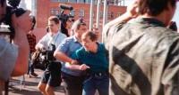 Manifestazione contro la scelta di Pechino come sede dei prossimi giochi olimpici.  Arresto di Nikolaj Khramov.