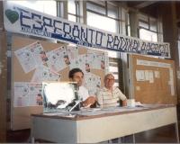 Giorgio Pagano a un tavolo dell'ERA presso il 62° Congresso Italiano di Esperanto.