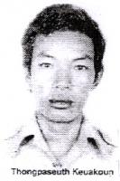Thongpaseuth Keuakoun, militante laotiano dei diritti umani, leader di una manifestazione non violenta per la democratizzazione del Laos tenutasi il 2