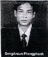 SengAroun Phengphanh, militante laotiano dei diritti umani, leader di una manifestazione non violenta per la democratizzazione del Laos tenutasi il 29