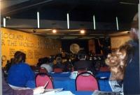 36° Congresso del PR. Vista della platea. In fondo, Olivier Dupuis alla tribuna.