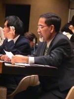 Kok Ksor - alla commissione sui diritti umani di Ginevra, dove parla a nome del Partito Radicale - denuncia gli abusi sistematici commessi dal governo