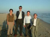 Olivier Dupuis, Vo Van Ai e altri (in occasione della cerimonia in California dopo l'azione di disobbedienza civile in Vietnam di Dupuis).