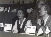 36° Congresso. Emma Bonino e Sergio D'Elia.