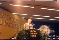 Sergio D'Elia alla tribuna del 36° Congresso del PR.