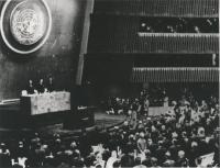 assemblea dell'ONU (BN) (tre copie)