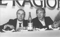 Enzo Tortora ed Emilio Vesce.