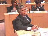 Claudio Martelli al convegno: LE CELLULE STAMINALI PER LA LIBERTA' DI RICERCA IN EUROPA, presso il Parlamento Europeo, promosso dal Partito Radicale T