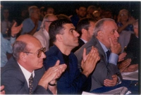 Alfonso Pecoraro Scanio (al centro) e Alfredo Biondi.