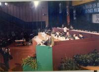 32° Congresso del PR. Massimo Teodori alla tribuna.