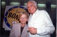 Marco Pannella ed Emma Bonino.