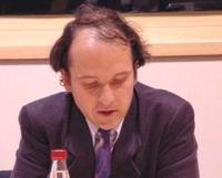 """Ulrich Delius (Gesellschaft für Bedrohte Völker)  partecipa al convegno: """"La situazione nel Turkestan dell'Est dopo mezzo secolo di occupazione cinese"""