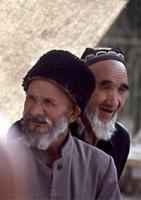Immagini del popolo uiguro, nella provincia di Khotan. Altre digitali.