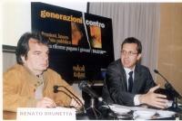 """Renato Brunetta (Forza Italia) e Benedetto Della Vedova partecipano al convegno: """"Generazioni contro - Pensioni, lavoro, debito pubblico"""", promosso da"""