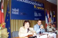 """Renato Brunetta (Forza Italia), accanto a Benedetto Della Vedova, partecipa al convegno: """"Globalizzazione? Sì, grazie"""", promosso dai Radicali Italiani"""