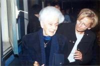 Rita Levi Montalcini ed Emma Bonino.