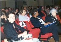 """Alessandra Filograno, Olayinka Koso-Thomas, Rita Levi Montalcini, sono sedute nella platea del convegno: """"Stop FGM!"""", contro le mutilazioni genitali f"""