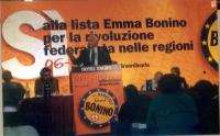 Assemblea dei radicali in vista della presentazione alle regionali delle liste radicali Emma Bonino, e di una campagna di sottoscrizione per i referen