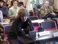 Franca Chiaromonte (deputato DS) partecipa alla conferenza di presentazione del satyagraha mondiale, promosso dal PR, per una qualificata presenza de