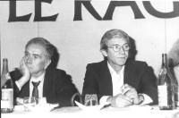 riratto di Emilio Vesce ed Enzo Tortora (BN) (2 copie)