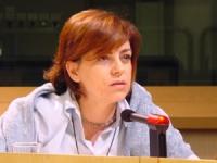 Elena Valenciano (MPE - PSE) (in occasione della conferenza stampa di presentazione del satyagraha mondiale dei radicali).