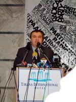 Consiglio Federale del PR. Ilir Meta, presidente del Consiglio albanese.